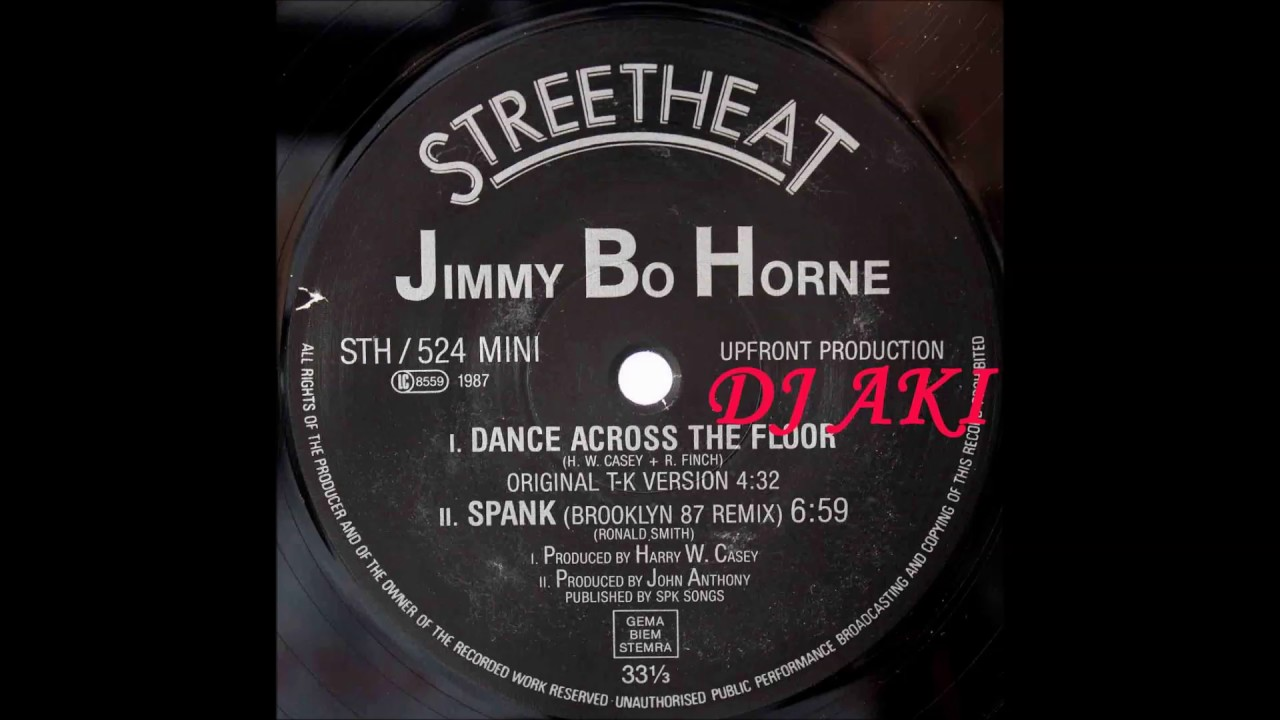 Jimmy Bo Horne Spank Dance Across The Floor
