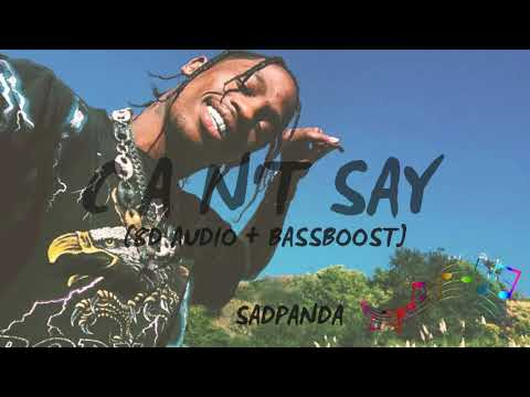 Travis Scott - Can't Say (8D Audio Use Headphones)