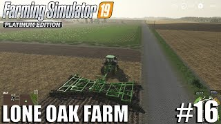 Plowing and baling Straw | Lone Oak 2.0 | Farming Simulator 19 Timelapse #16