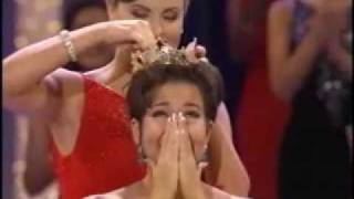 Crowning of Miss America 2000 Heather Renee French