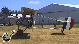 Crazy WW1 Aircraft With No Fuselage - Airco DH.2