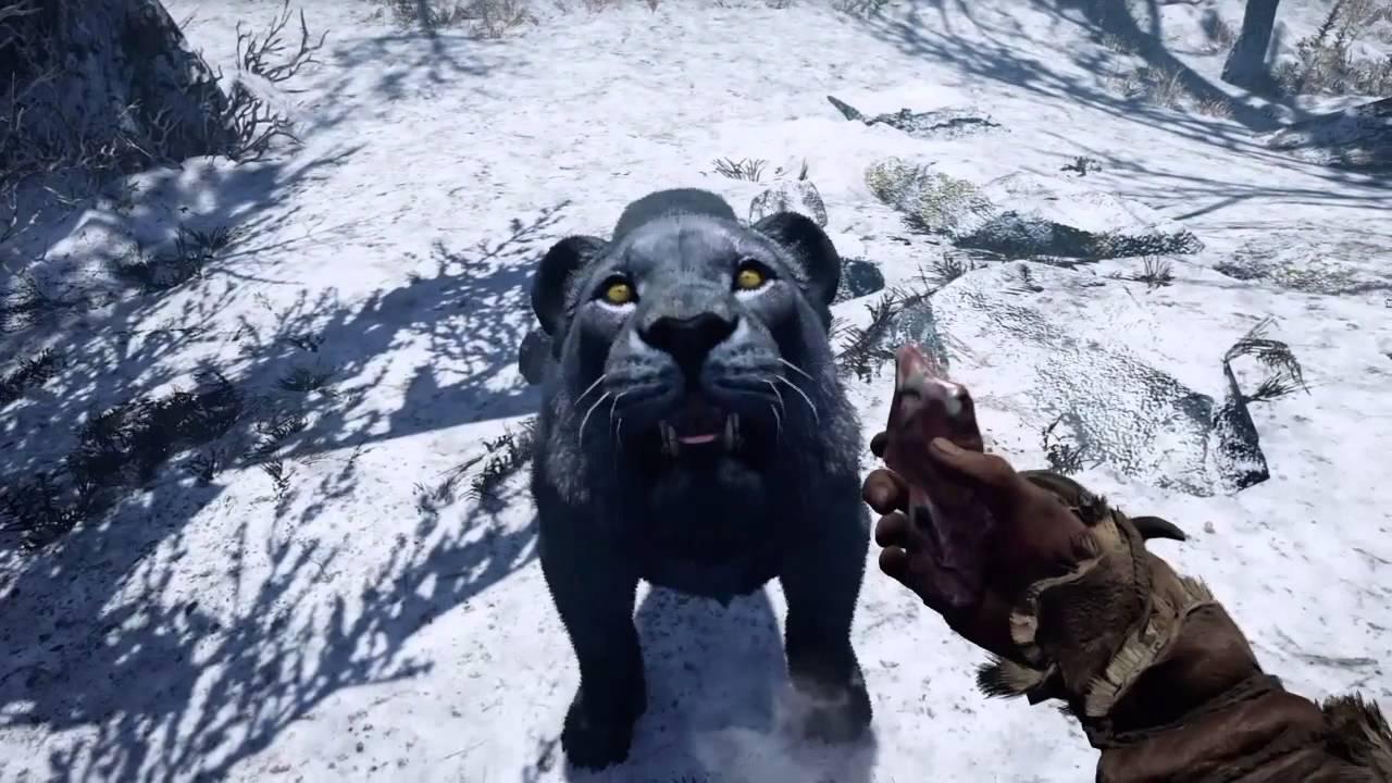 Far Cry Primal rare black lion - YouTube