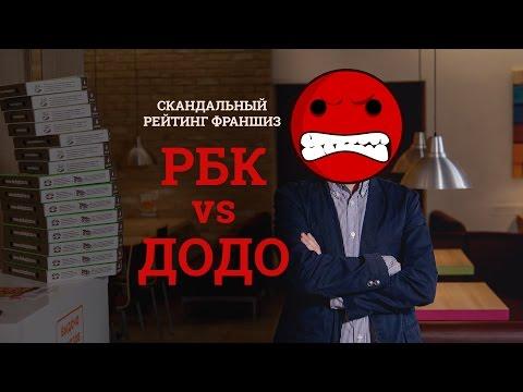 РБК против Додо Пиццы! Скандальный рейтинг франшиз