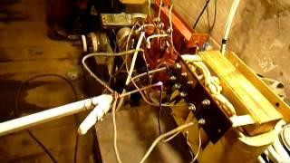 Дуга с трехфазного трансформатора(, 2014-04-05T14:56:05.000Z)