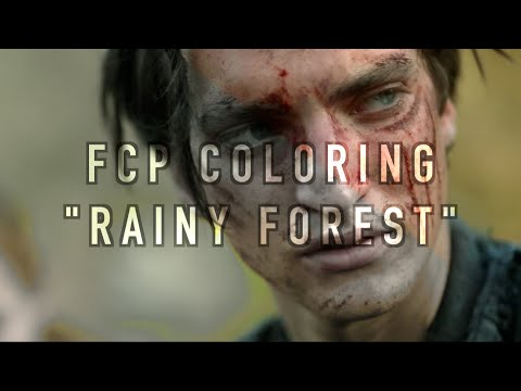 FCP Coloring || Rainy Forest