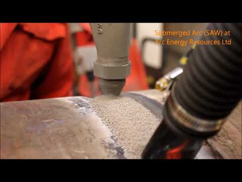 Submerged Arc Welding System by Arc Energy - Ref. video