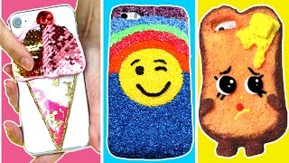 5 minutes phone cases to do when you are BORED! 10 DIY VIRAL iphone cases
