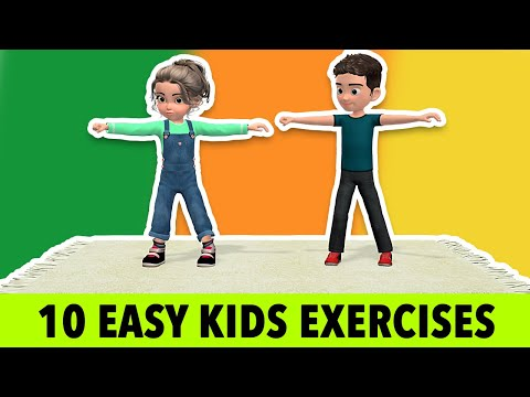10 Easy and Simple Kids Exercises To Do At Home