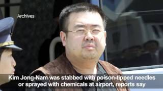 Assassination of Kim Jong-un's half-brother shows North Korea's 'brutality' – South's leader