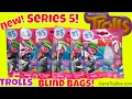 NEW Dreamworks Trolls Series 5 Blind Bags Surprise Toys Characters Names Opening Toy Poppy Creek
