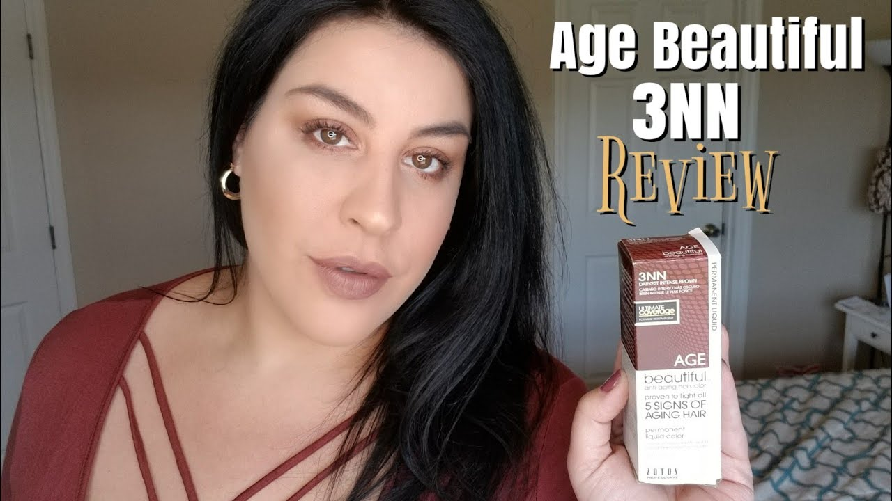Age Beautiful Hair Color 3nn Review Lication