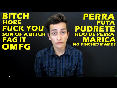 Learn bad words in spanish