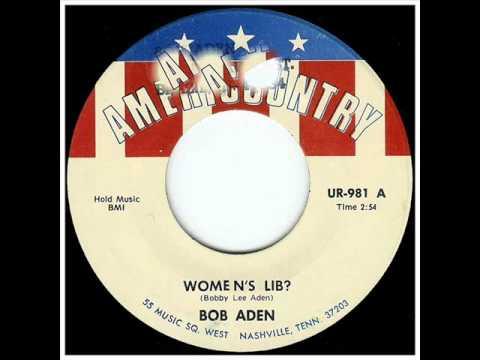 "Bob Aden ""Women's Lib?"""
