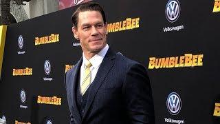 "John Cena attends ""Bumblebee"" premiere"