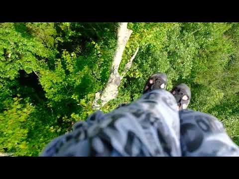 Ziplining  with Climbworks in Tennessee live experience 08- 19