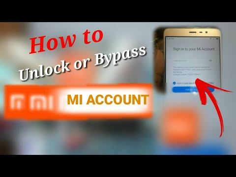 How To Unlock Or Bypass MI Account Password/Reset MI Account