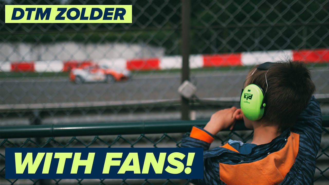DTM Zolder coming up from 06–08 August with fans!
