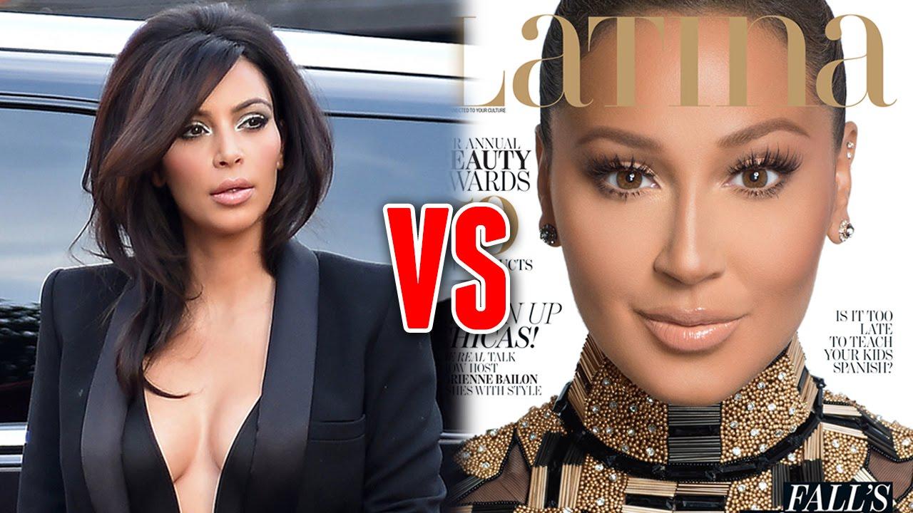 Kim Kardashian Throws Shade Adrienne Bailon