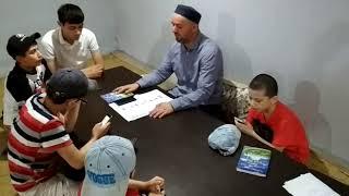 Уроки по основам Исламской религии в нашем Худжре в Томске.