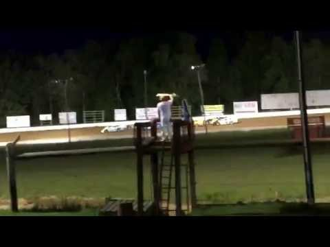 Roaring Knob Speedway: Fast Track Crate Latemodel Feature Race June 11th, 2016