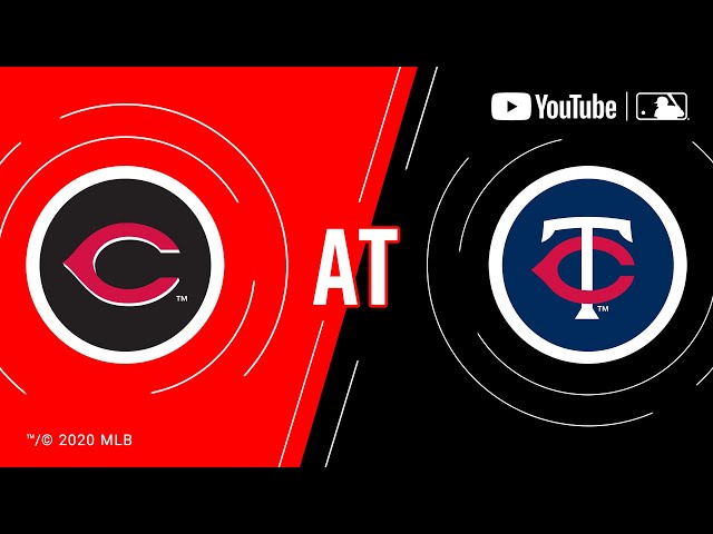 Reds at Twins   MLB Game of the Week Live on YouTube