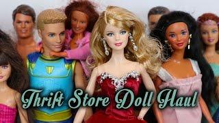 Barbie Thrift Store Doll Haul #4