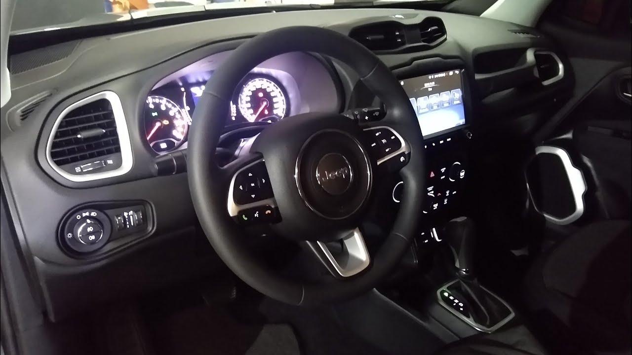 Jeep Renegade PCD 2020 com todo sistema do Renegade Sport 2020 instalado 100% funcional