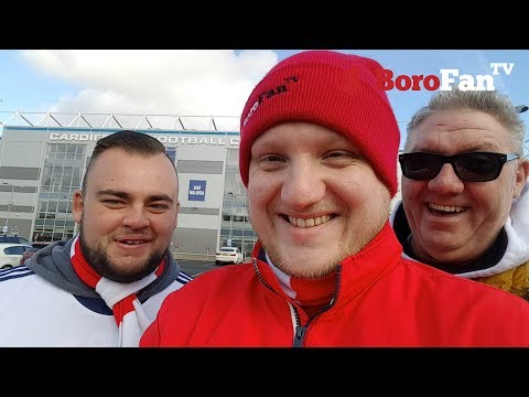 TOO UGLY FOR MFC - BoroFanTV Vlog 037 - Cardiff vs Middlesbrough
