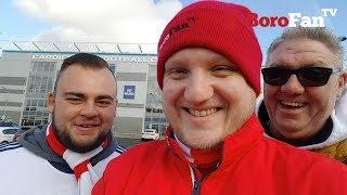 TOO UGLY FOR MFC - BoroFanTV Vlog 037 - Cardiff vs Middlesbrough