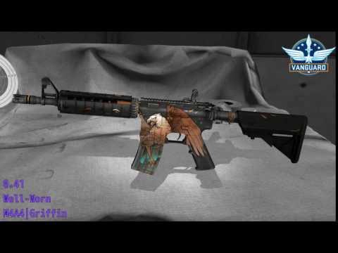 M4A4  Griffin Wear/Float