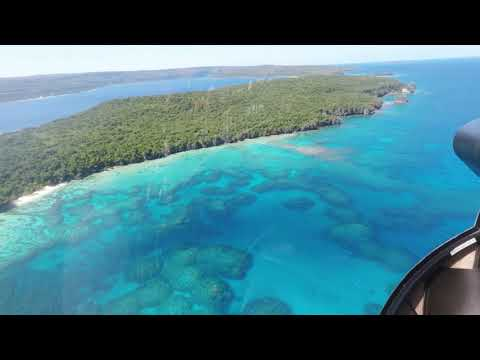 Coastline of Efate, Vanuatu GoPro 1080p