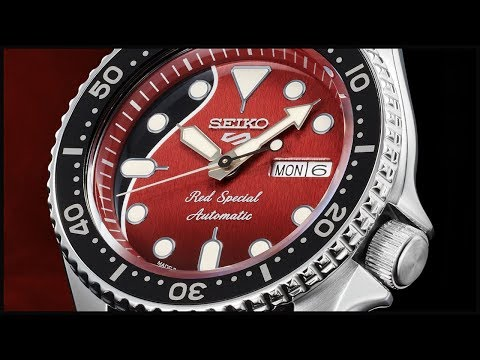 Специальная серия часов Seiko 5 Sports Brian May Special Edition SRPE83K1