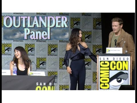 OUTLANDER PANEL(Complete)  | 2017 SDCC | Sam Heughan, Caitriona Balfe and more!