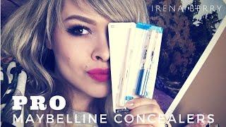 PRO: Консилеры Maybelline | Обзор, свотч ♡ IRENA BERRY
