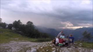 Struck by Lightning in Lake Bohinj at Vogel (7 3 2015)