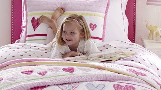 Spring Quilts for Girls | Pottery Barn Kids
