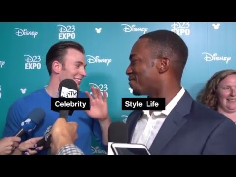 Chris Evans funny moments selection