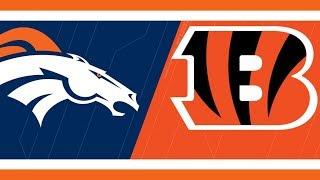 Broncos vs Bengals Live Stream