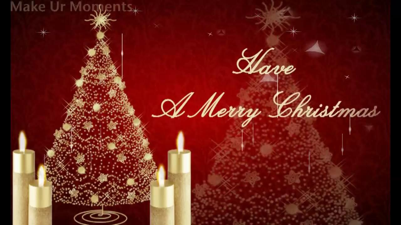Merry christmas greetings youtube merry christmas greetings kristyandbryce Images