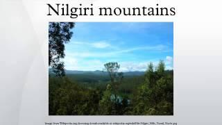 Nilgiri mountains