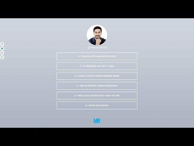→ Página de Links Personalizada - Como Eu Faço Sem LINKTREE!