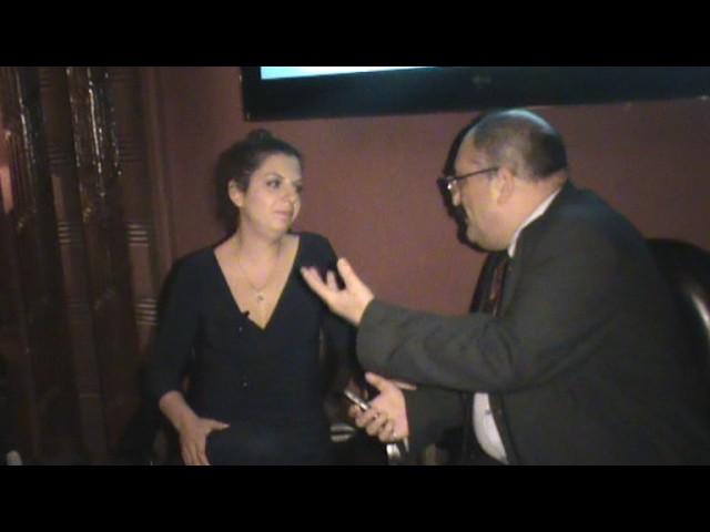 مرغاريتا سيمانيان تتحدث للشاميات في عيد ميلاد