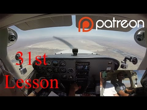 Private Pilot Lesson 31 — Pattern on Base Hood Time