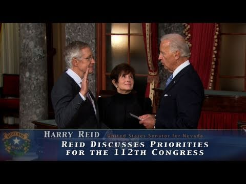 Reid Discusses Priorities for 112th Congress