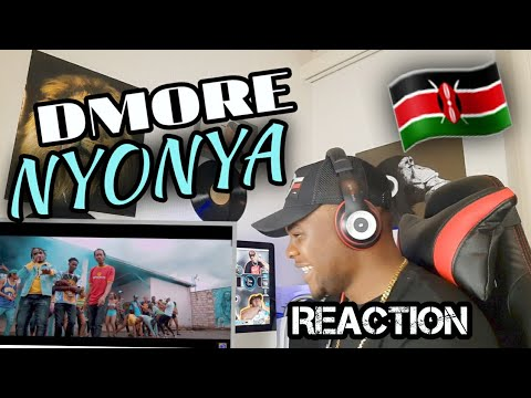 NYONYA - Dmore x Seska x Kappy x Parroty [OFFICIAL MUSIC VIDEO] |REACTION