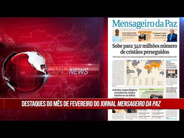 Boletim Semanal de Notícias - CPAD News 198