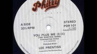 Lee Prentiss - You Plus Me (The Einstein Song)