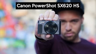 Canon PowerShot SX620 HS | kleine Digitalkamera VIEL ZOOM | günstige VLOG Kamera
