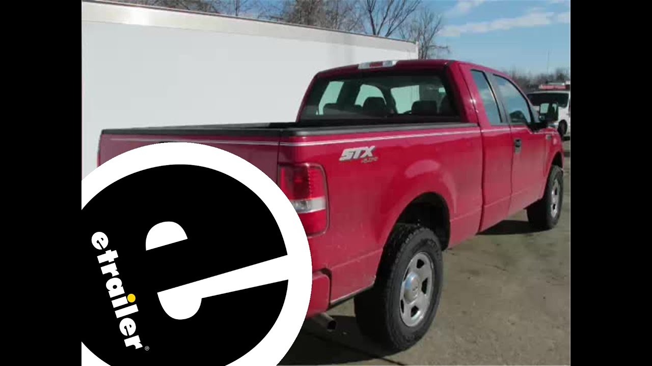 Installation of a trailer hitch on a 2007 ford f 150 etrailer com youtube