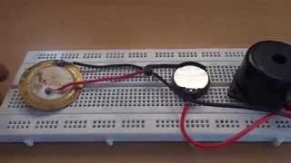 Create music using one Transistor